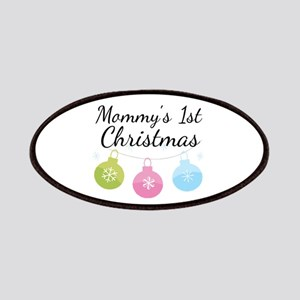 Mommy's 1st Christmas Patches