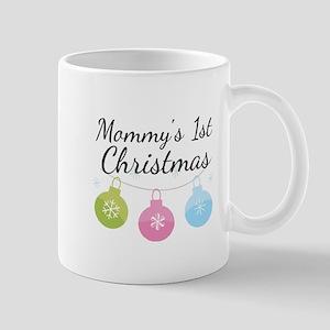 Mommy's 1st Christmas Mug