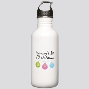 Mommy's 1st Christmas Stainless Water Bottle 1.0L