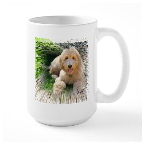 Goldendoodle Large Mug
