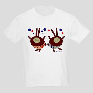 Dancing Bunnies Kids Light T-Shirt