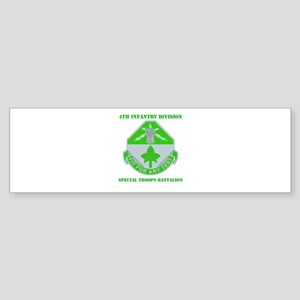 DUI - Division - Special Troops Bn with Text Stick