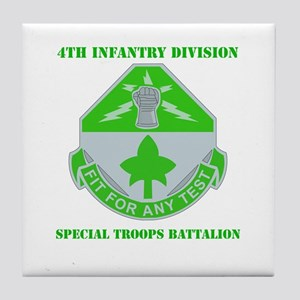 DUI - Division - Special Troops Bn with Text Tile