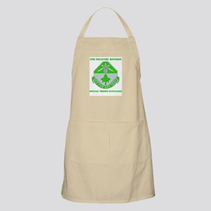 DUI - Division - Special Troops Bn with Text Apron