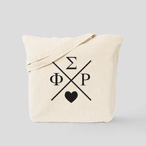 Phi Sigma Rho Cross Tote Bag