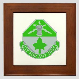 DUI - Division - Special Troops Bn Framed Tile