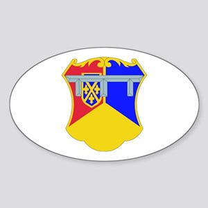 DUI - 1st Bn - 66th Armor Regt Sticker (Oval)
