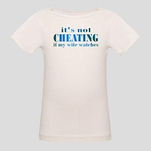 Wife Watches Organic Baby T-Shirt