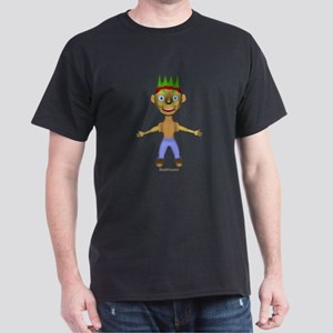 3D Happyman Dark T-Shirt