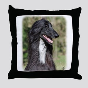Afghan Hound AA017D-101 Throw Pillow