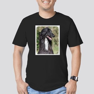 Afghan Hound AA017D-101 Men's Fitted T-Shirt (dark