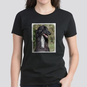 Afghan Hound AA017D-101 Women's Dark T-Shirt