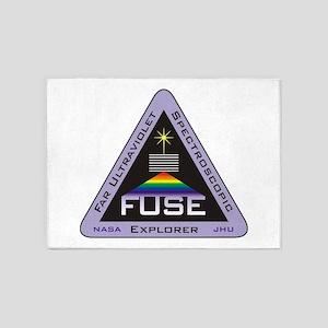 FUSE Program Logo 5'x7'Area Rug
