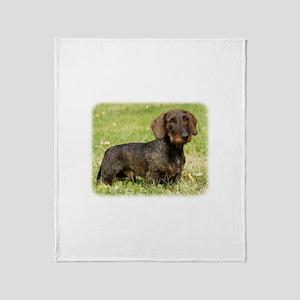 Dachshund 9Y813D-096 Throw Blanket