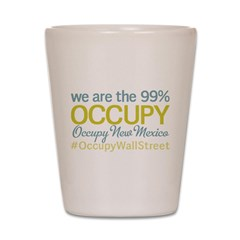 Occupy New Mexico Shot Glass