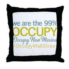 Occupy New Mexico Throw Pillow