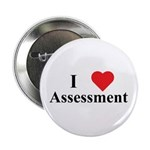 "I Heart Assessment 2.25"" Button (10 Pack)"