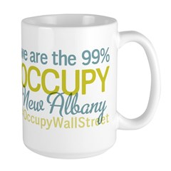 Occupy New Albany Large Mug