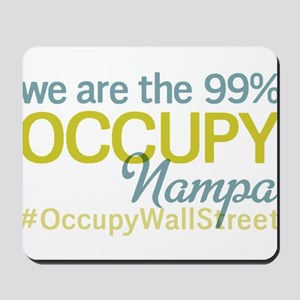 Occupy Nampa Mousepad