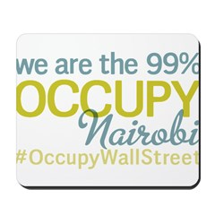 Occupy Nairobi Mousepad