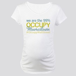 Occupy Moorestown Maternity T-Shirt