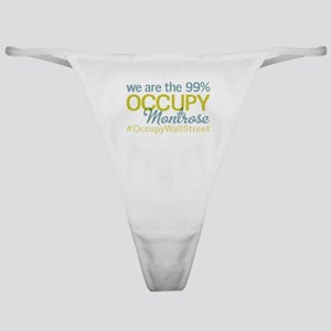 Occupy Montrose Classic Thong
