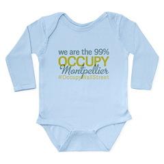 Occupy Montpellier Long Sleeve Infant Bodysuit