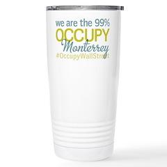 Occupy Monterrey Stainless Steel Travel Mug
