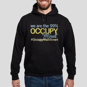 Occupy Minot Hoodie (dark)
