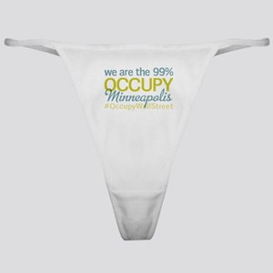 Occupy Minneapolis Classic Thong