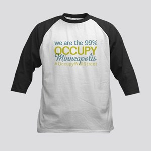 Occupy Minneapolis Kids Baseball Jersey