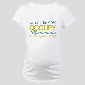 Occupy Menomonie Maternity T-Shirt