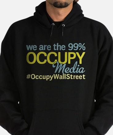 Occupy Media Hoodie (dark)