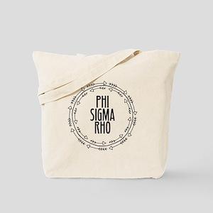 Phi Sigma Rho Arrows Tote Bag