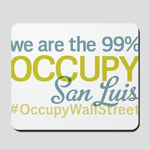 Occupy San Luis Obispo Mousepad