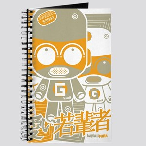Gadget Mascot Stencil Journal