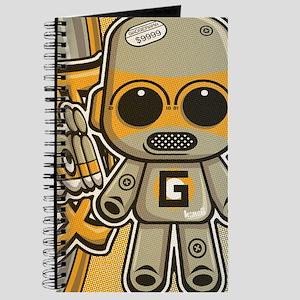 Gadget Mascot Tag Journal