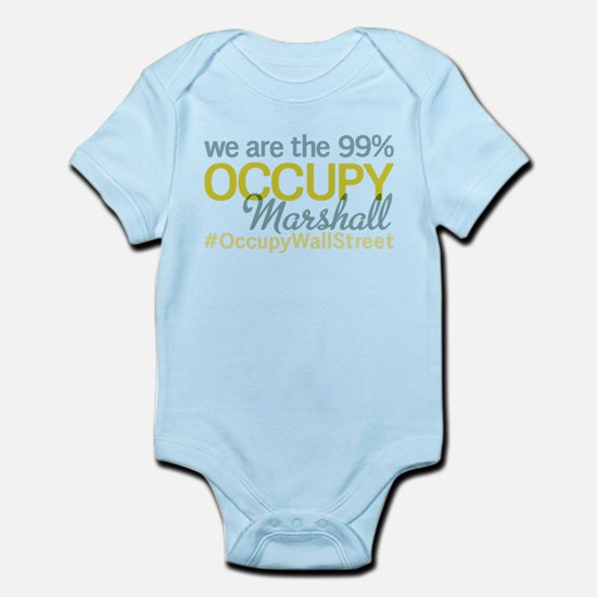 Occupy Marshall Infant Bodysuit