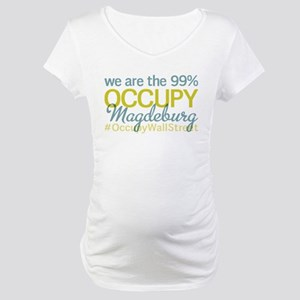 Occupy Magdeburg Maternity T-Shirt