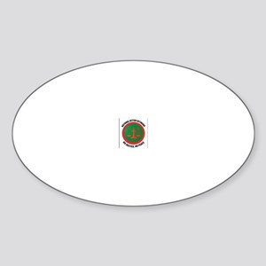 NAN GEAR Oval Sticker