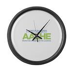 AALHE Logo 2017 Large Wall Clock