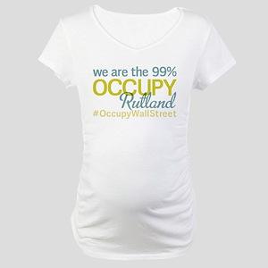 Occupy Rutland Maternity T-Shirt