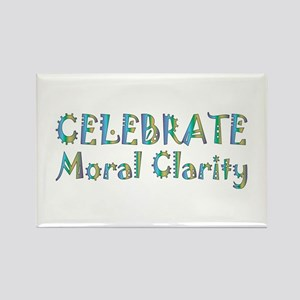 Moral Clarity Rectangle Magnet