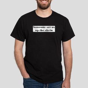 skein Black T-Shirt