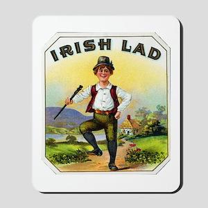 Irish Lad Cigar Label Mousepad
