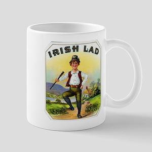 Irish Lad Cigar Label Mug