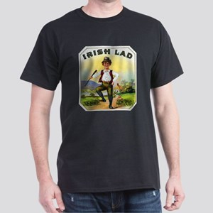 Irish Lad Cigar Label Dark T-Shirt