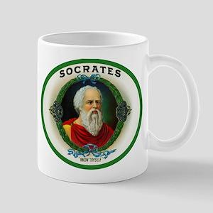 Socrates Cigar Label Mug