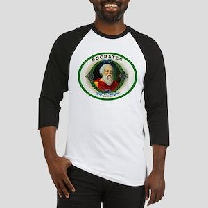 Socrates Cigar Label Baseball Jersey
