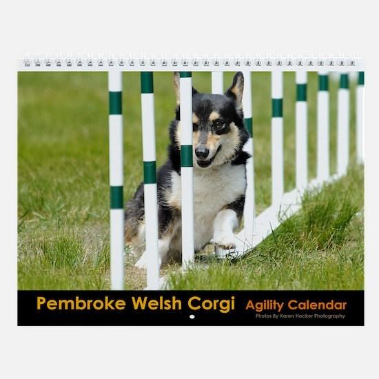 Pembroke Welsh Corgi Agility Calendar